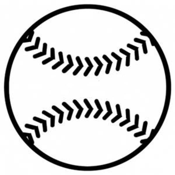 Black And White Baseball Clipart-Black and White Baseball Clipart-12