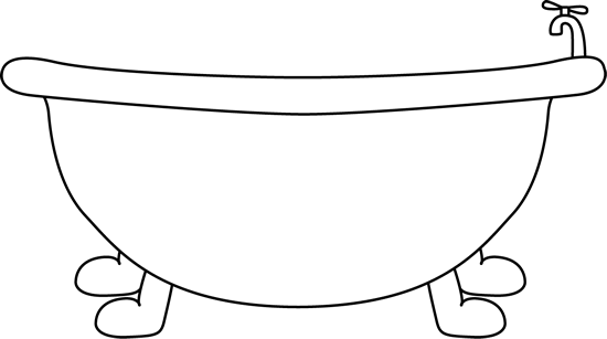Black and White Bathtub-Black and White Bathtub-11