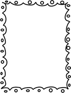 ... Black And White Border Clip Art - clipartall ...