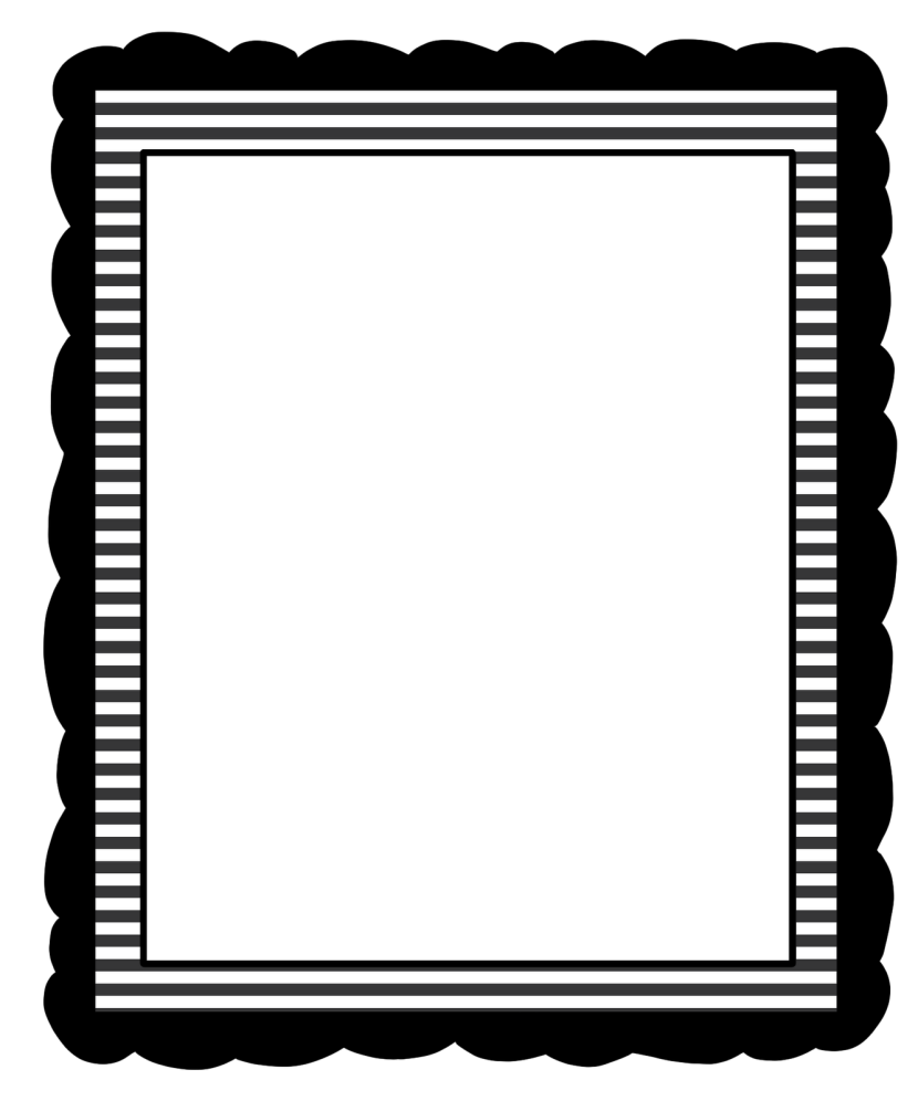 Black And White Borders Clipart-Black and white borders clipart-3