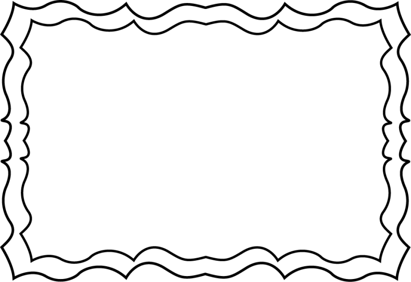 Black and white borders cliparts-Black and white borders cliparts-7