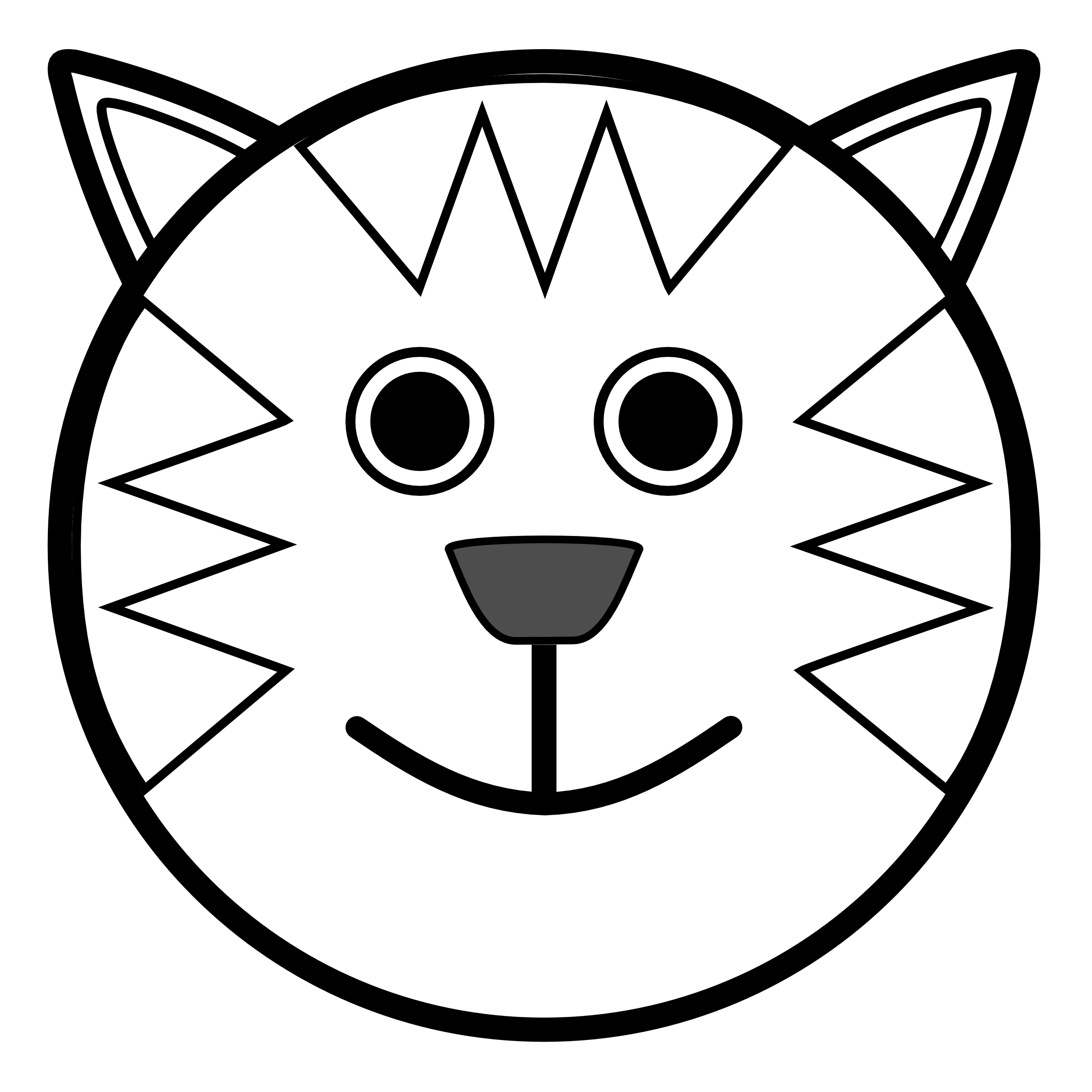 ... Black And White Clipart Animal ...-... Black and white clipart animal ...-1