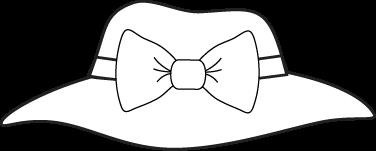 Black And White Girls Hat-Black and White Girls Hat-2