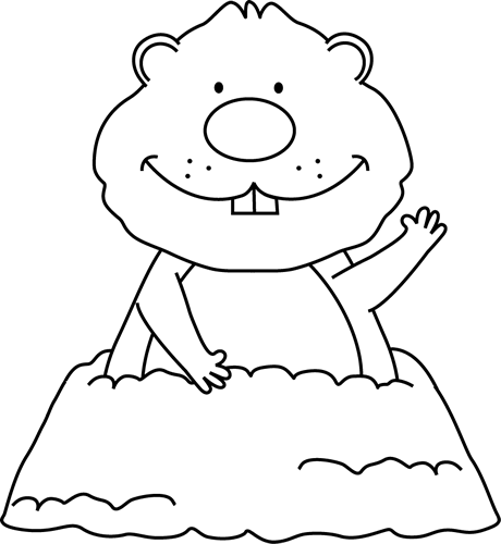 Groundhog Clipart