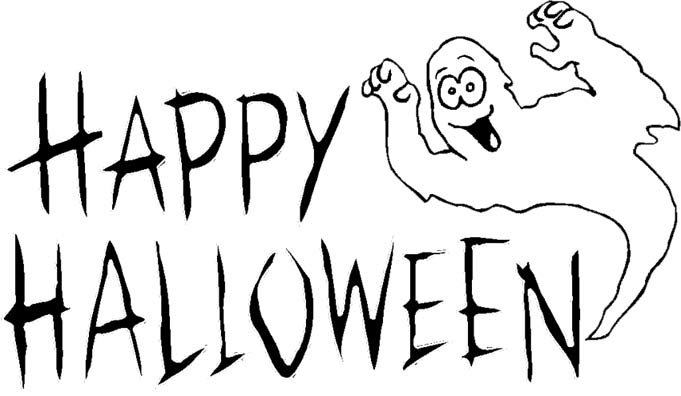 Halloween Clipart Black And White