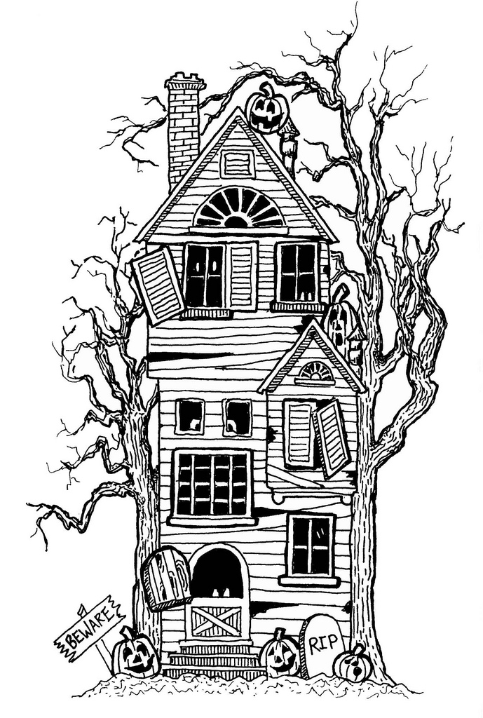 Black And White Haunted House. 1000  Ima-black and white haunted house. 1000  images about haunted .-1