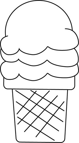 Black And White Ice Cream For .-Black and White Ice Cream for .-1