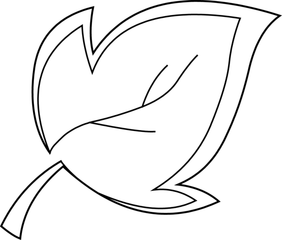 ... Black And White Leaf Clipart ...-... Black And White Leaf Clipart ...-1