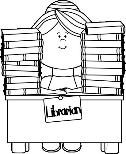 Black And White Librarian-Black and White Librarian-0
