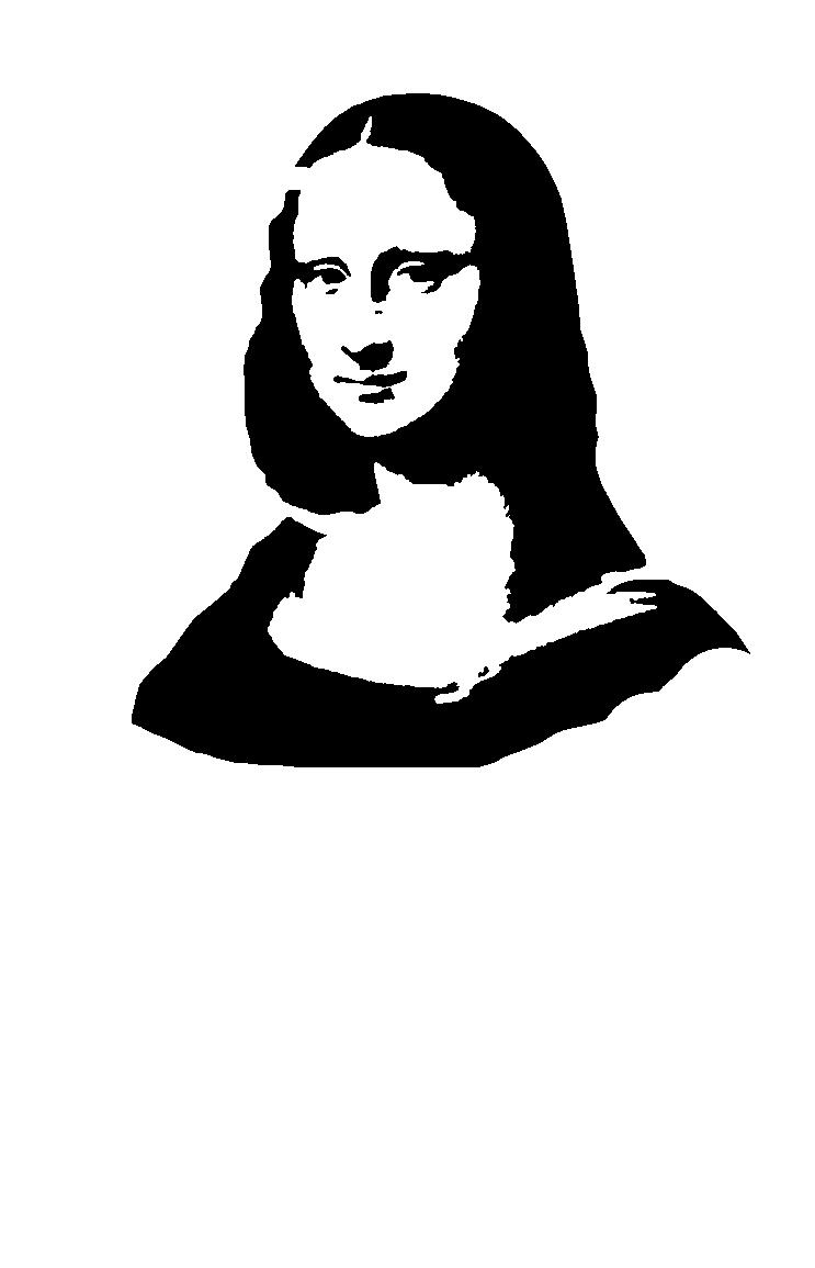 Mona Lisa Clipart