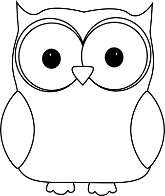 Black and White Owl. Black and White Owl-Black and White Owl. Black and White Owl Clip Art ...-5