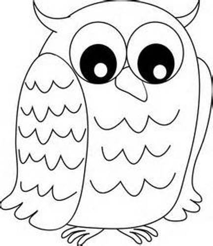 Black And White Owl Clipart-Black And White Owl Clipart-4