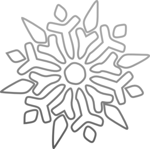 Black And White Snowflake .-black and white snowflake .-5