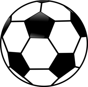 Black And White Soccer Ball Clip Art At Clker Com Vector Clip Art