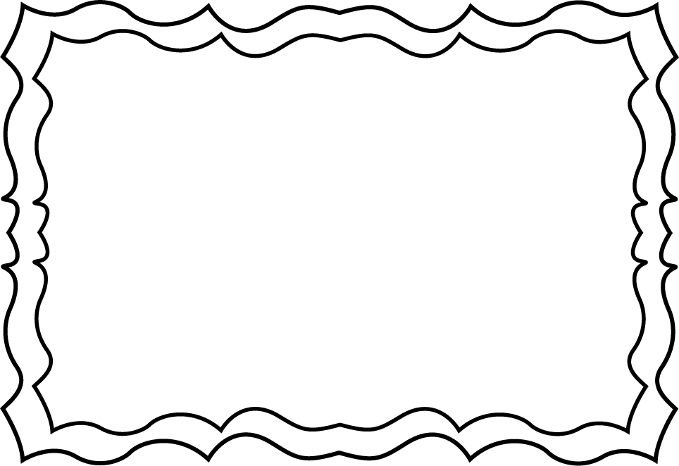Black And White Squiggly Frame .-Black And White Squiggly Frame .-16