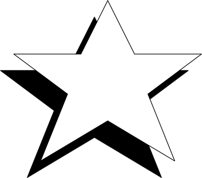 ... Black And White Star Clip Art - Clip-... Black And White Star Clip Art - clipartall ...-1