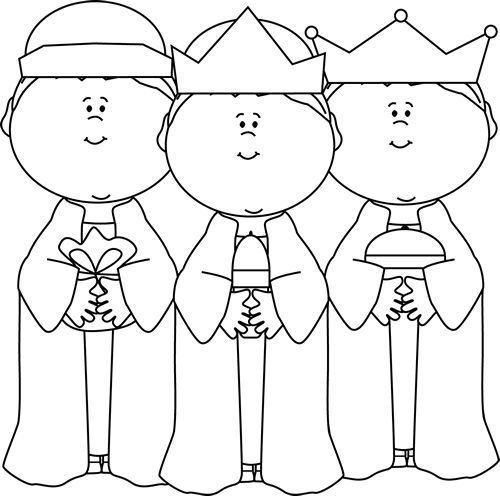 Black and White Three Wise Men Clip Art - Black and White Three Wise Men Image | παραμύθια | Pinterest | Clip art, Graphics and Stencils
