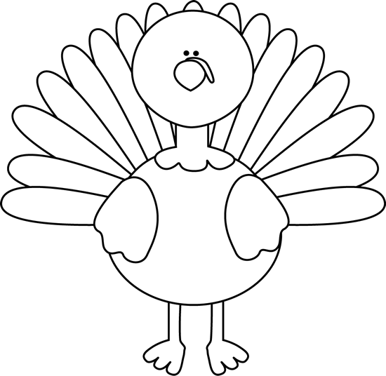 Black And White Turkey Clip Art Black An-Black And White Turkey Clip Art Black And White Turkey Image-9