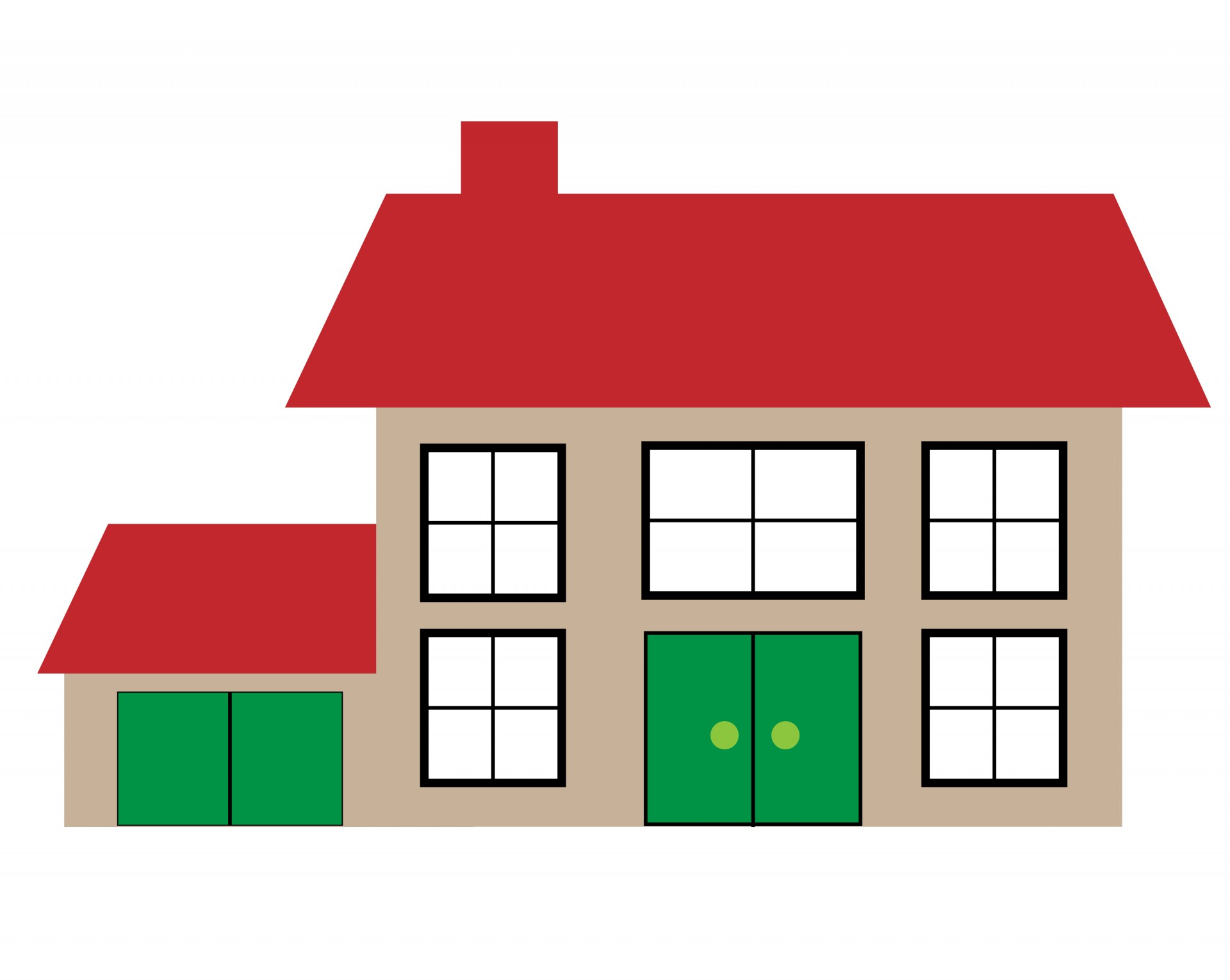 Black Background Clipart House Illustration Clipart ...