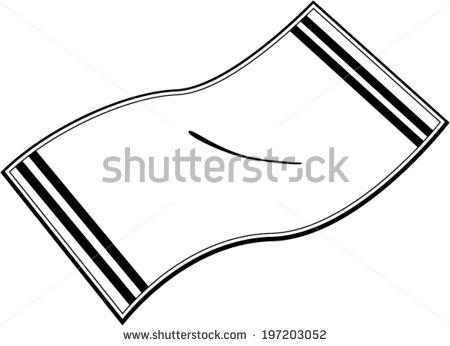 Black Beach Towel Clip Art-Black Beach Towel Clip Art-7