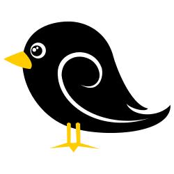 Black Bird Clip Art Free Borders And Clip Art