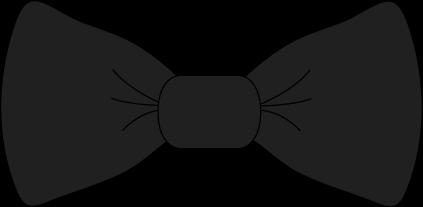 Black Bow Tie Clip Art - Transparent Png-Black Bow Tie Clip Art - transparent png black bow tie image.-3