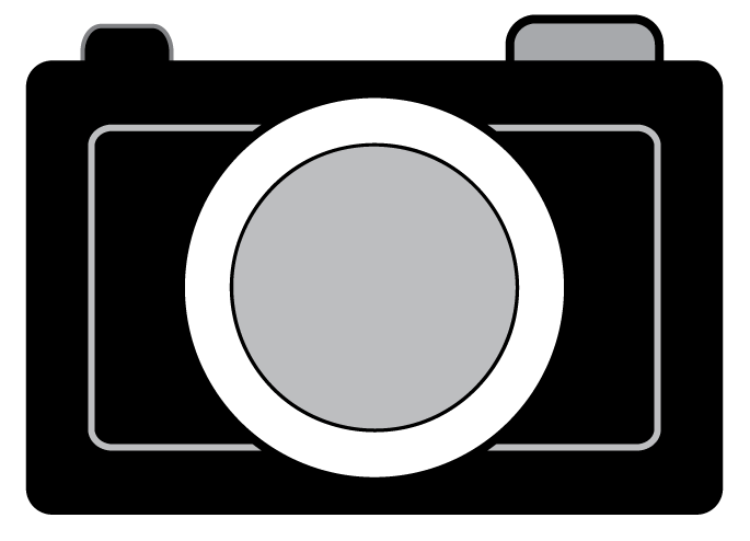 Black Camera Clipart