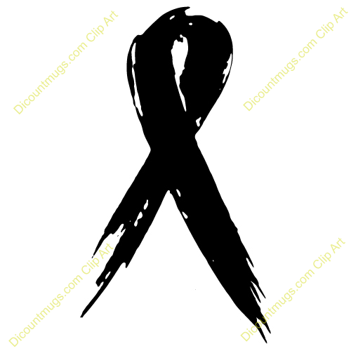 Black Cancer Ribbon Clip Art Quotes
