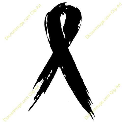 Black Cancer Ribbon Clip Art Quotes
