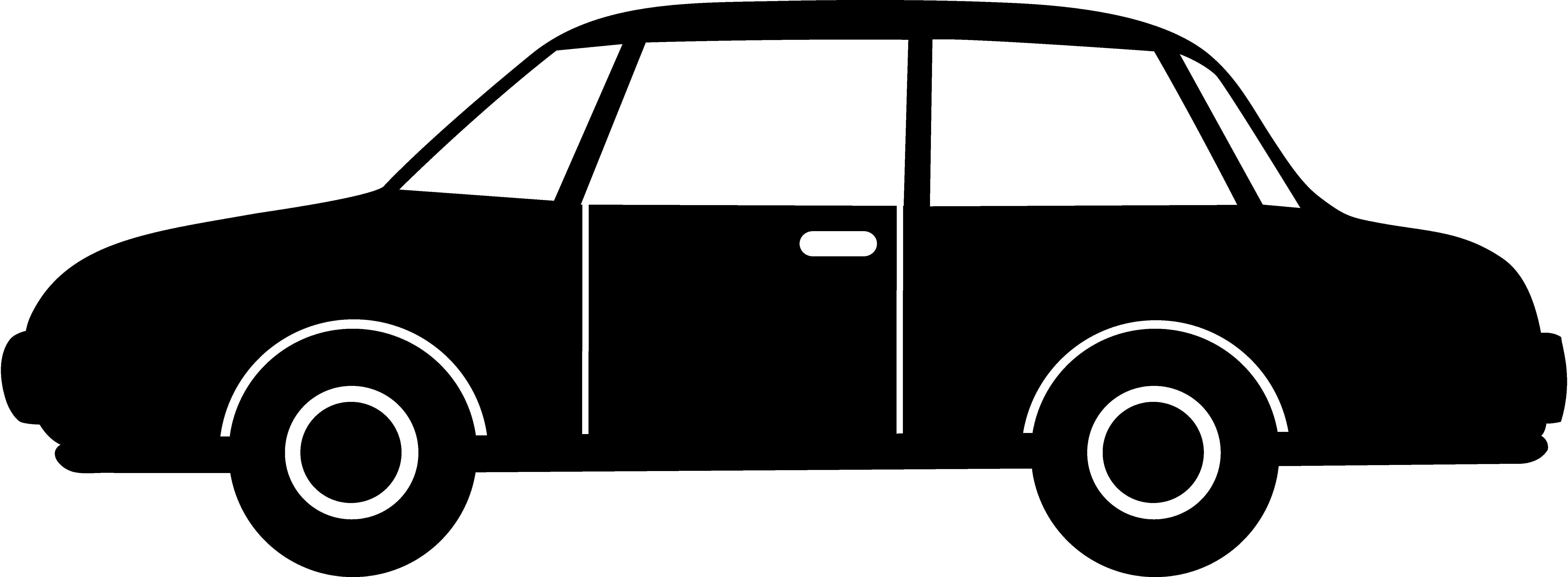 Black Car Silhouette - Free .