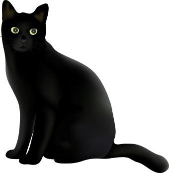 Black Cat Clip Art-Black Cat Clip Art-1