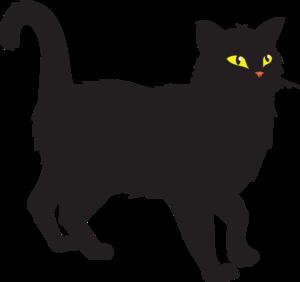 Black Cat Clipart-black cat clipart-5