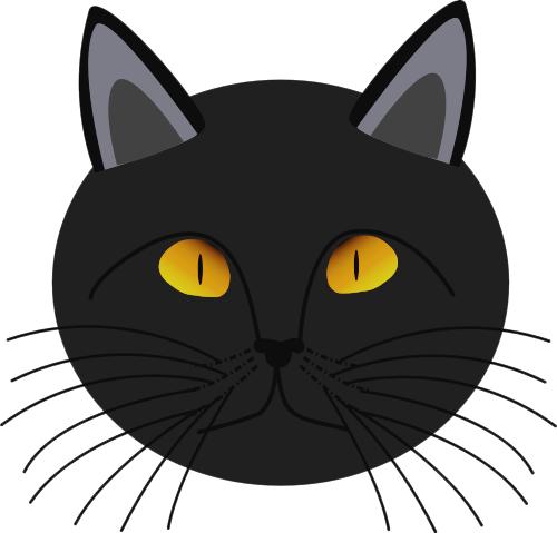 Black Cat Face Http Www Wpclipart Com Ho-Black Cat Face Http Www Wpclipart Com Holiday Halloween Cat More-1
