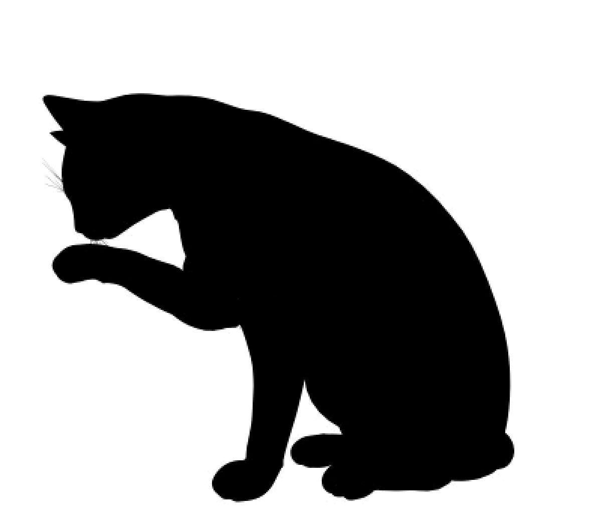 Black Cat Silhouette Clip Art