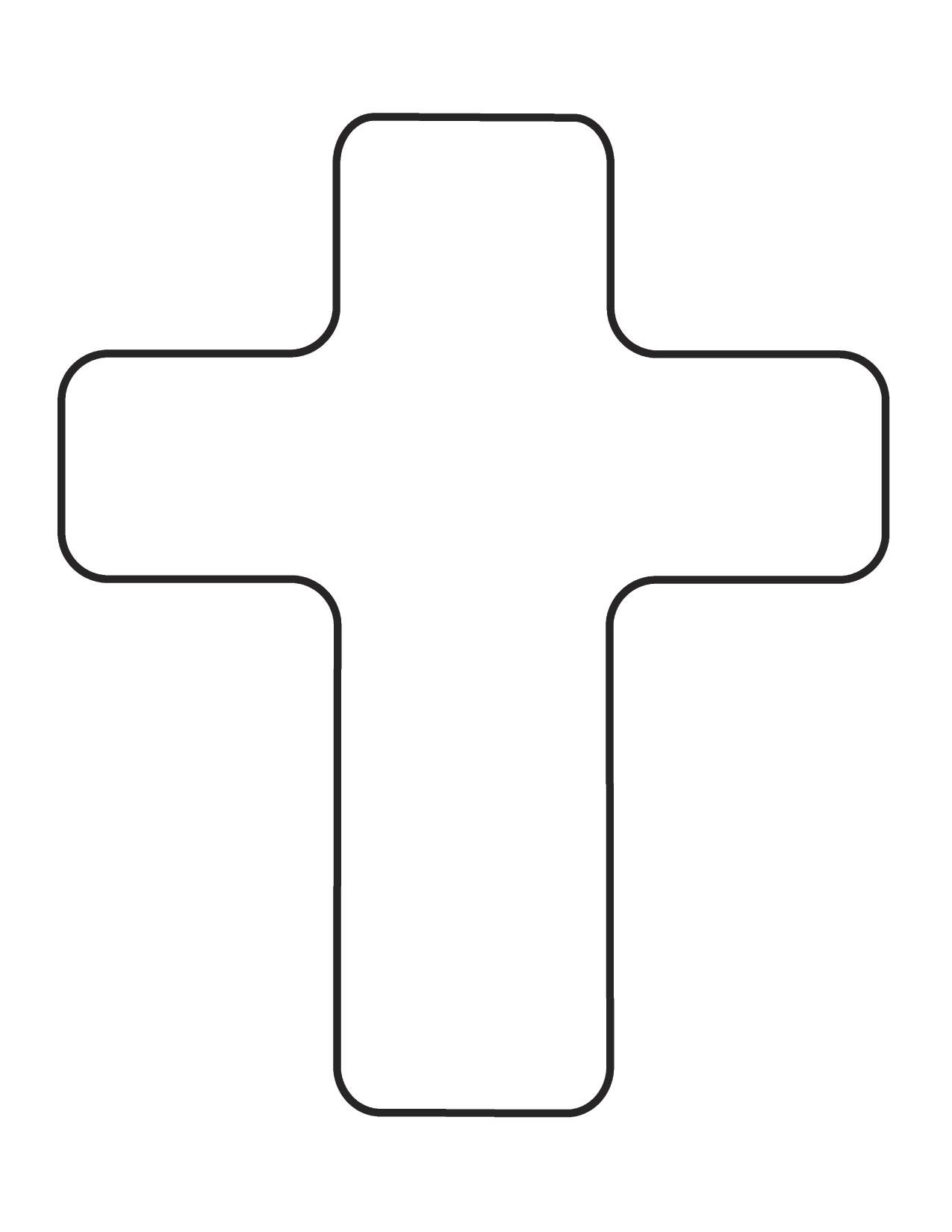 Black Christian Cross | Clipa - Free Clipart Of Crosses