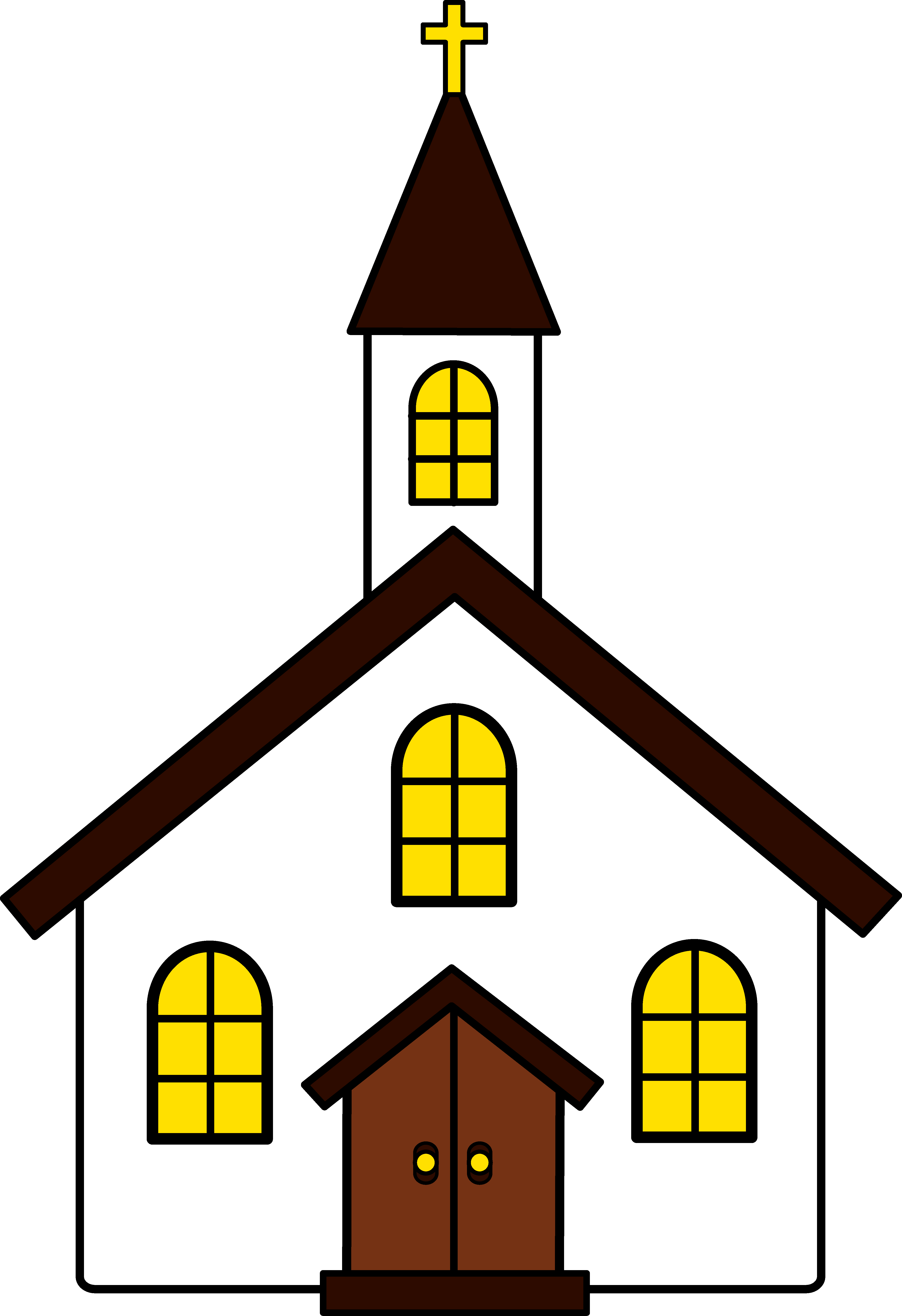 Black church clip art free clipart images 2