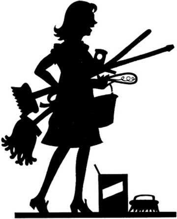 Black Cleaning Lady Clipart Free Clip Ar-Black Cleaning Lady Clipart Free Clip Art Images-1