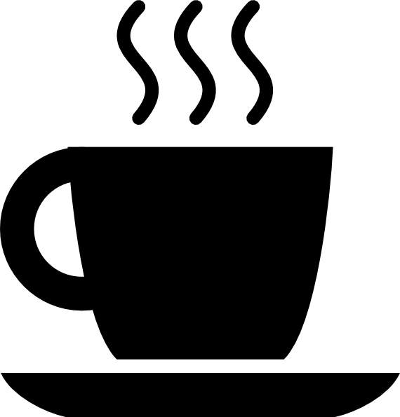 Black Coffee Cup Clip Art
