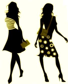 Black Fashion Show Clipart