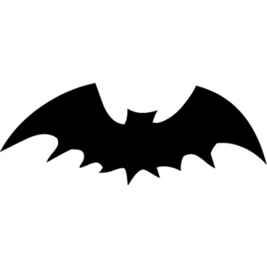 Black Flying Bats Halloween Clip Art, Free Halloween Graphics from Pastiche Family Portal