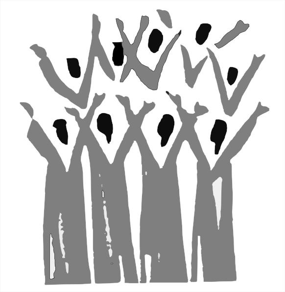 Black Gospel Choir Clip Art