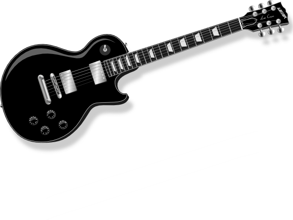 Black Guitar Clip Art At Clker .