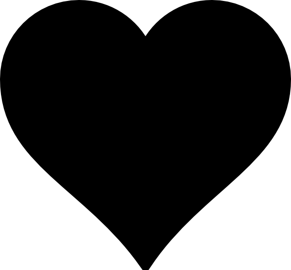 Black Heart Clip Art At Clker Com Vector-Black Heart Clip Art At Clker Com Vector Clip Art Online Royalty-10