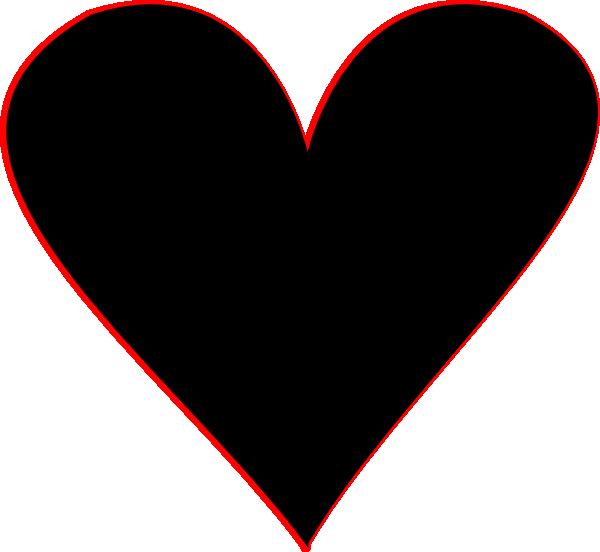 ... Black heart heart black and white heart clipart hearts 5 ...