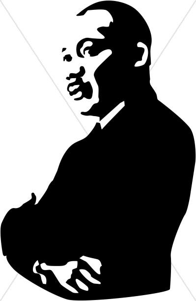 Black History Month Program Cover Martin-Black History Month Program Cover Martin Luther King Clipart-11