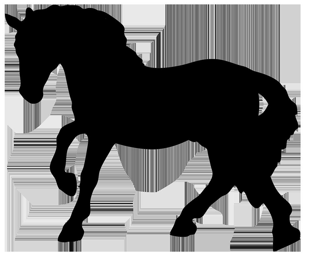 black horse silhouette clipart ...