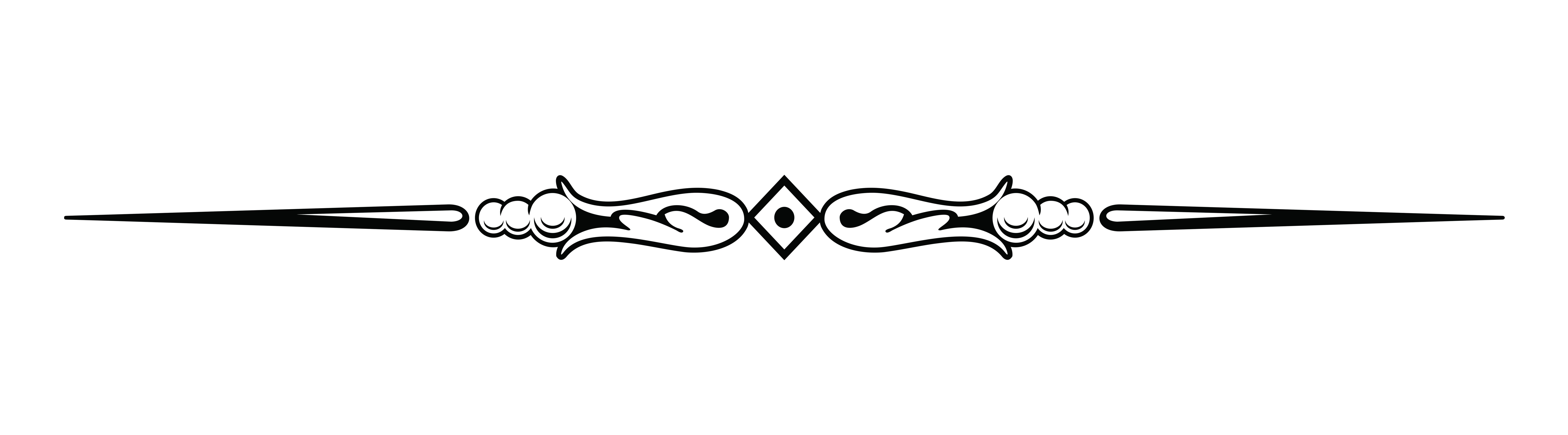 Black Line Divider Clipart