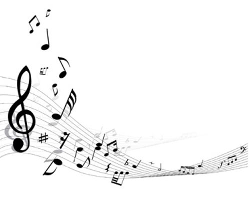 Black Musical Note Clip Art Free | Music Vector Graphics u2013 Amazing Vector Music Background Designs
