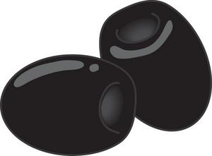 Black Olive Clipart #1-Black Olive Clipart #1-13