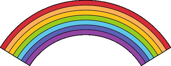 Black Outline Rainbow
